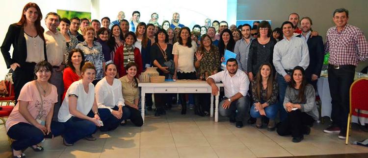 El grupo de CocinAR en Chaco