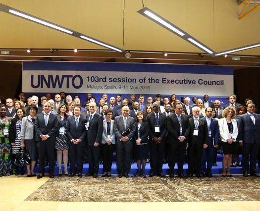 Nos reunimos en el Comité Ejecutivo OMT en Málaga, España