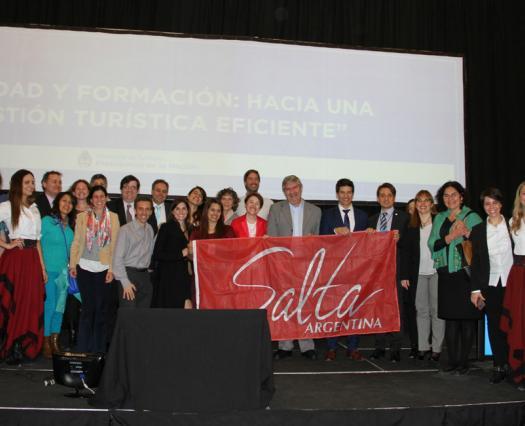 500 personas trabajaron en calidad turística en Encuentro Federal de Calidad y Formación en Salta