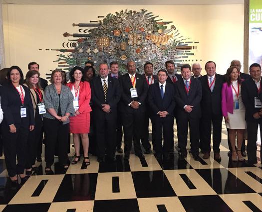 Argentina representó a Sudamérica en la Reunión Regional de la OMT en Cuba
