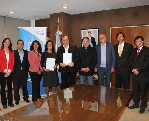 Acordamos con Latam Airlines promocionar destinos de nuestro país