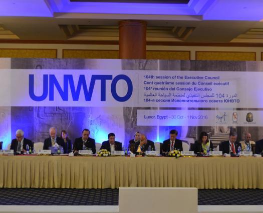 Presidimos el Comité de Programa y Presupuesto de la OMT en Egipto